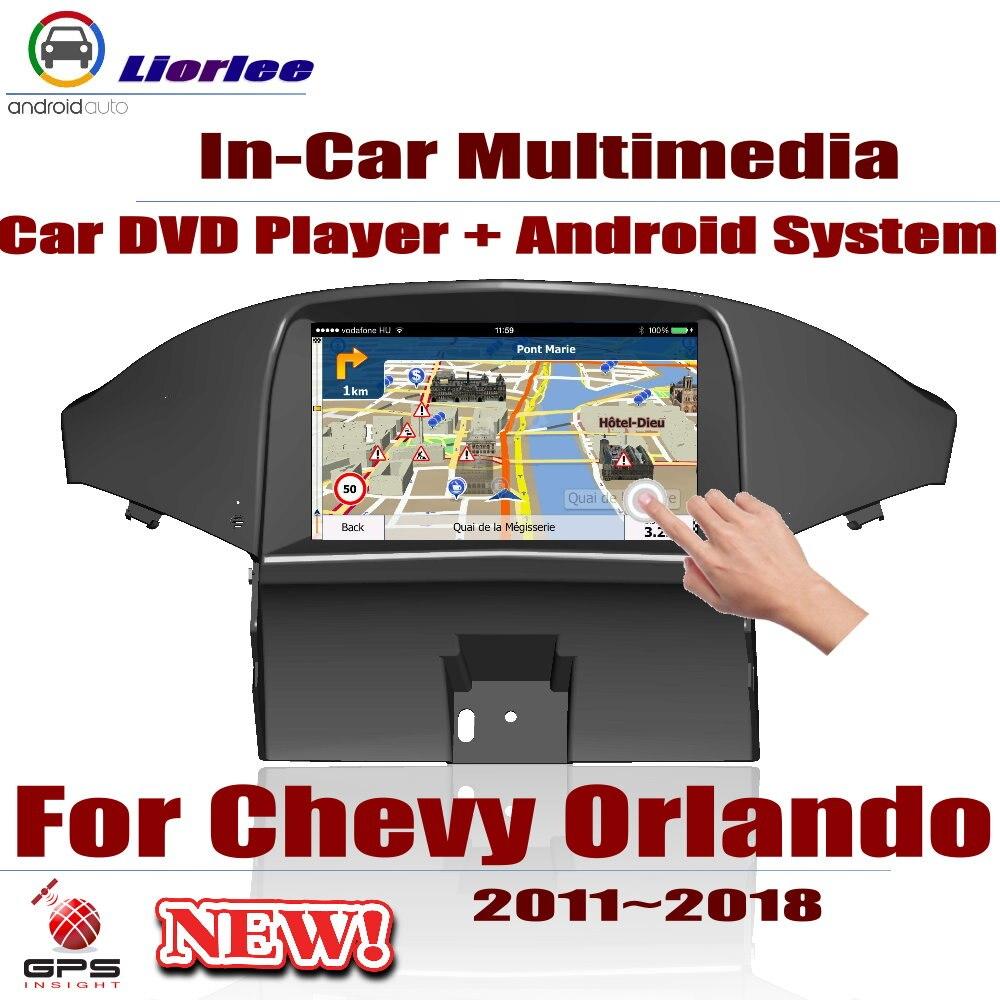 Авто GPS навигация для Chevrolet Chevy Orlando 2011 ~ 2018 автомобильный Android мультимедийный плеер CD DVD Радио стерео AMP BT USB экранМультимедиаплеер для авто    АлиЭкспресс