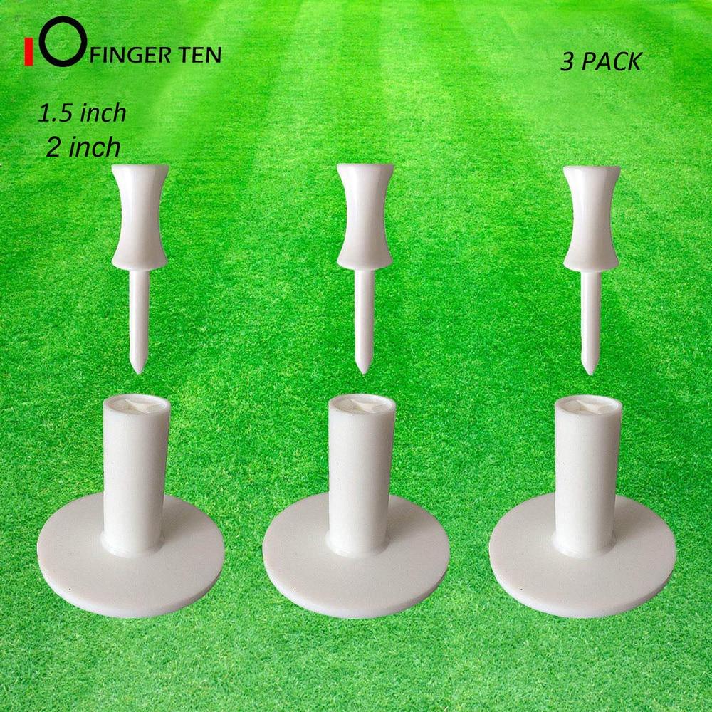 Driving Range Mat Ball Holder Rubber Golf Tees Rubber Value 3 Pack Size 1.5