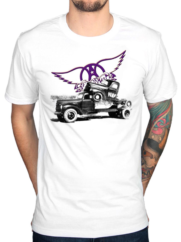 Official Aerosmith Pump T-Shirt Merch Get Your Nine Lives Draw Band New