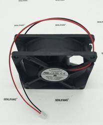 Darmowa wysyłka 8025 12V 0.19A F128025SH wentylator chłodzący