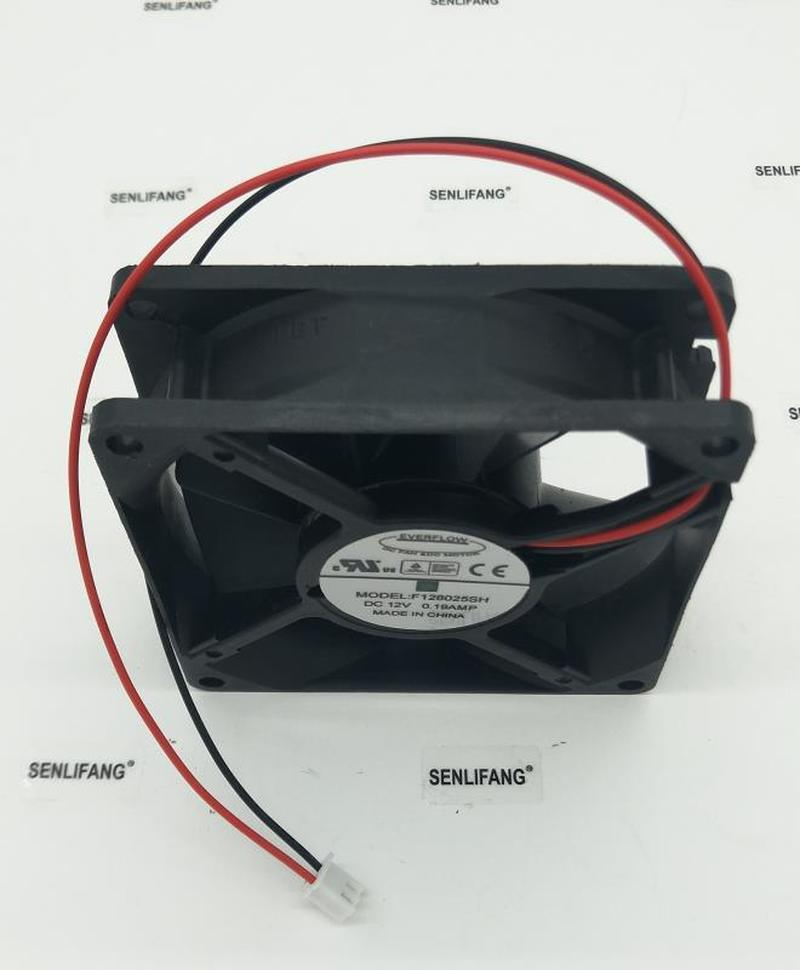 Free Shipping 8025 12V 0.19A F128025SH Cooling Fan