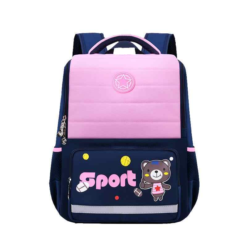 Children School Bags For Girls boys Kids Cartoon Primary School Backpacks Waterproof Orthopedic Schoolbags Mochila Infantil Zip