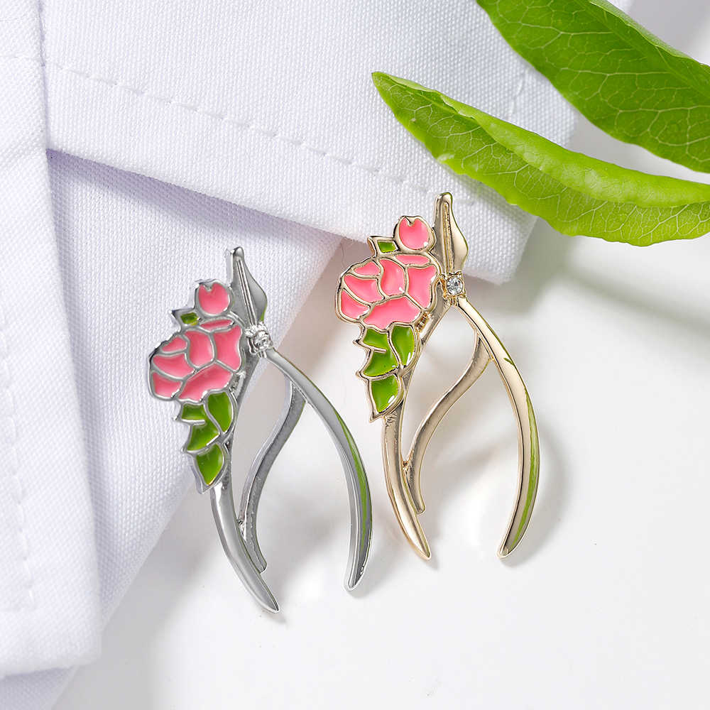 Gold Silver Color Forceps Pins Dentist Romantic Jewellery Medical ...