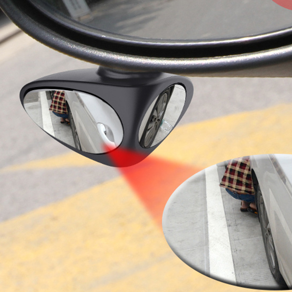 Car Rearview Blind Spot Zone Mirror Wide Angle Dual Side Glass Wing Mirror Car Accessories