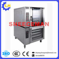 Multifunction kitchen equipment 5 plates 10trays hot air oven grilled chicken Hot air furnace fermentation combined furnace