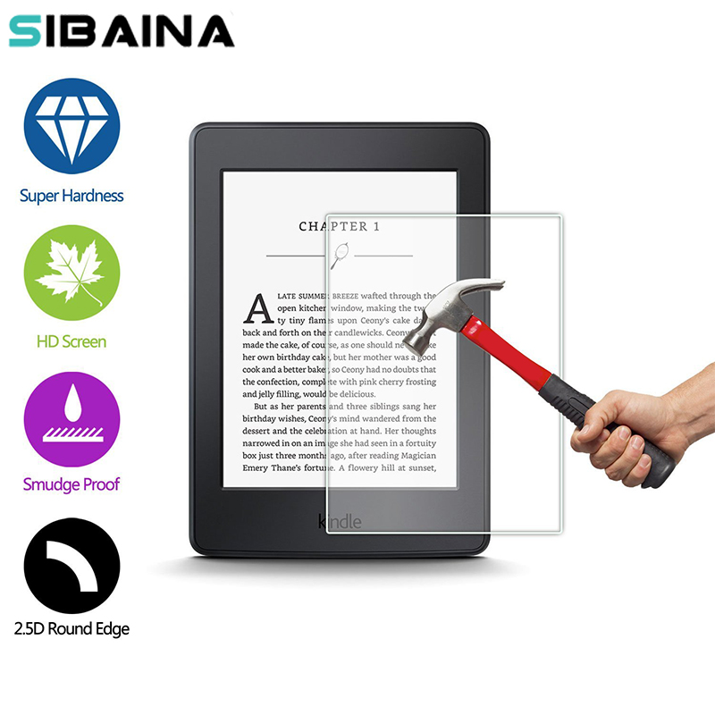 6.0 Inch Paperwhite Tempered Glass Protector For Amazon Kindle Paperwhite 6. 0 Inch Touch Ebook Glass Screen Protector