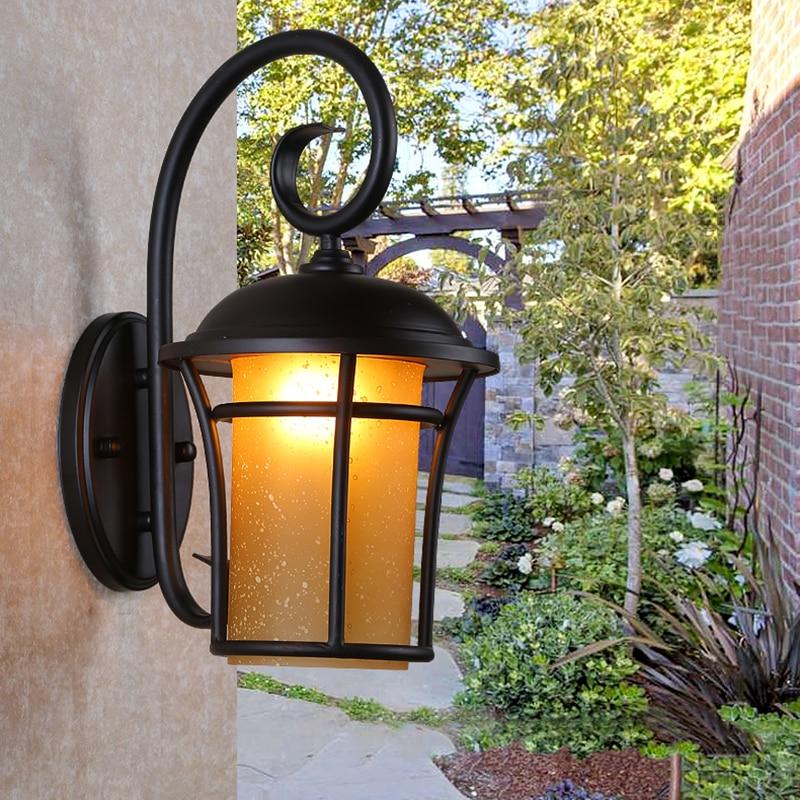 Светодиодный настенный светильник для дома, декоративный настенный светильник для крыльца, балкона, водонепроницаемый внешний светодиодн...