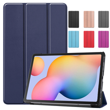 Magnetic Case for New Samsung Galaxy Tab S6 Lite 10.4 2020 PU Leather Stand Cover for Samsung Galaxy Tab S6 Protective Case стоимость