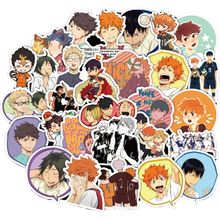 10/30/50/Pack Cute Anime Haikyuu Stickers Waterproof PVC Graffiti Skateboard Laptop Guitar Luggage Vsco Cool Sticker Kids Toys