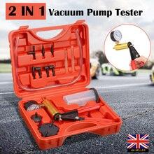 Vacuum Pump Kit Pump Car Motorbike Bleeding Hand Held Brake Bleeder Tester Set for Car Motorbike Bleeding Tools стоимость