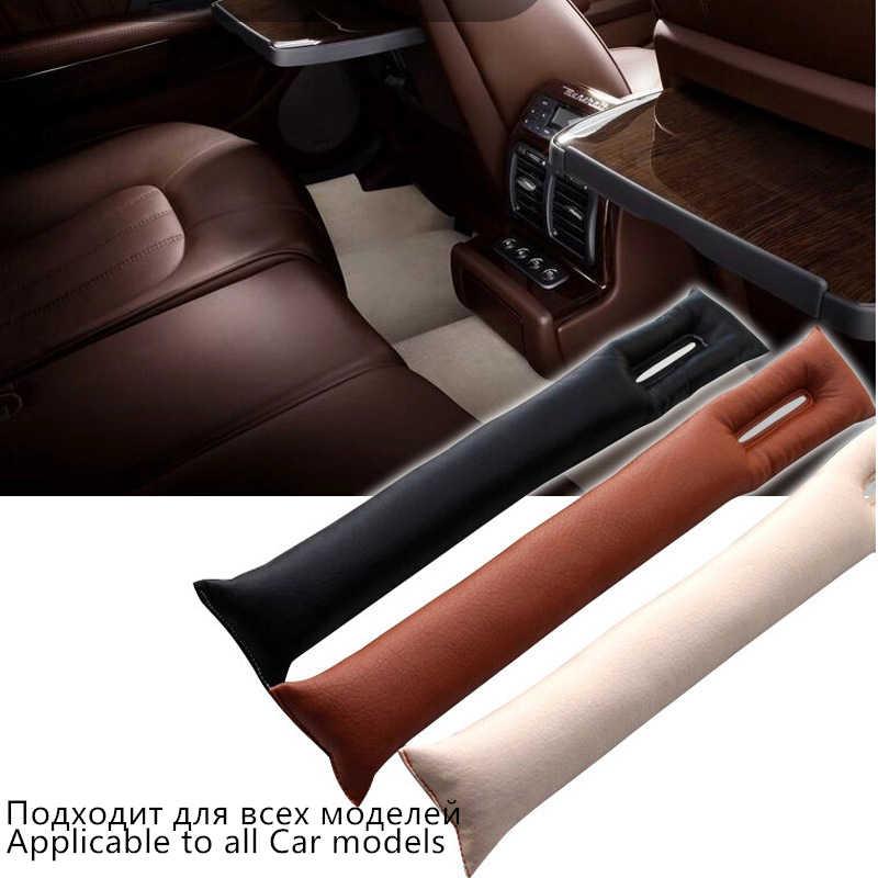 Автомобильные аксессуары универсальная кожа 1 шт. PU переднее автомобильное сиденье заполнитель герметичная стопа прокладка наполнителя коврик подушка крышка
