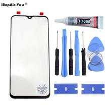 Orignal Front Outer Glass Lens For Samsung Galaxy A50 A40s A70 A60 A10 A20e A30 M20 Screen Touch panel+B7000 Glue+Blade Kit