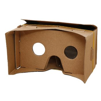 Google Cardboard DIY 3D VR Virtual Reality Glasses VR Cardboard Magnet VR Box Viewing 3D Movies for Phone Configuration New Type image