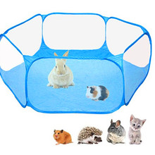 Pet Playpen Portable Pop Small Animal Cage Game Playground Fence for Hamster Chinchillas