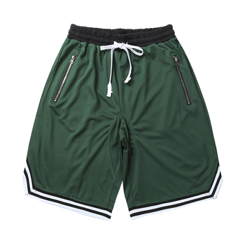 Men Gym Fitness Bodybuilding Short Pants Summer Thin Male Basketball Stripe Training Casual Shorts Running Sport Shorts Men Jogging Pants Men Sportswear Men Sportswear Men Swimwear Men Workout Shorts Running & Yoga Running Shorts Sporting Goods Sports & Entertainment Sports and Outdoor Color: Green Size: L