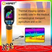 Envío rápido en STOCK HT-02/XE-28 cámara de imagen térmica portátil Resolución 60x60 pantalla Digital de 3600 píxeles