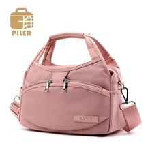 Piler Ladies Purse and Handbag Women Bag Fashion Nylon Shoulder Bag for Women Messenger Crossbody Bags Small Causal Oxford Tote