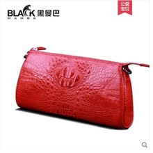 цены heimanba Crocodile skin bag for lady  The new one-shoulder bag for women chain bag aslant cross small bag crocodile hand bag