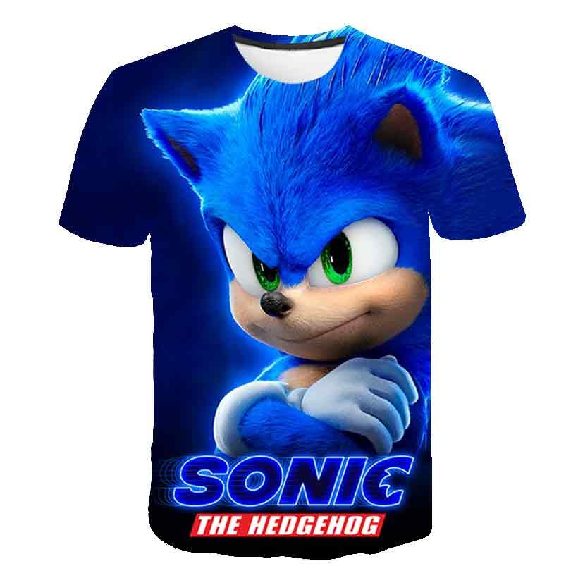 Летняя детская футболка с коротким рукавом Детская футболка с мультяшным 3D-принтом для мальчиков и девочек футболка с коротким рукавом для ...