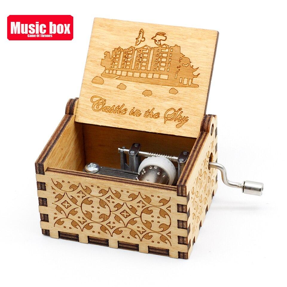 Старинная резная музыкальная шкатулка королева Кривошип Сейлор Мун деревянная музыкальная шкатулка Рождественский подарок на день рождения вечерние украшения