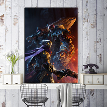 1 Piece Game Poster Painting Darksiders Genesis Picture Artwork Decorative Painting for Home Decor Wall Art