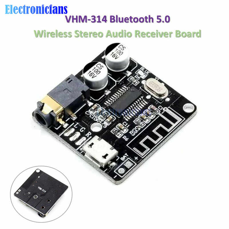VHM-314 Bluetooth Audio Empfänger bord Bluetooth 5,0 mp3 verlustfreie decoder board Wireless Stereo Musik Modul für Auto Lautsprecher MP3