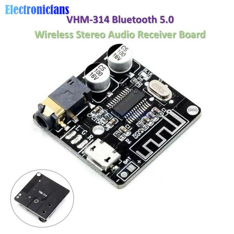 VHM-314 Bluetooth Audio Receiver Board Bluetooth 5.0 Mp3 Lossless Decoder Board Wireless Stereo Music Module For Car Speaker MP3