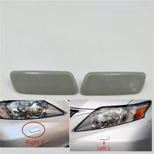 цена на For Lexus RX270 RX350 RX450H 2009-2012 Headlamp Headlight Washer Nozzle Jet Cover Cleaning Cap