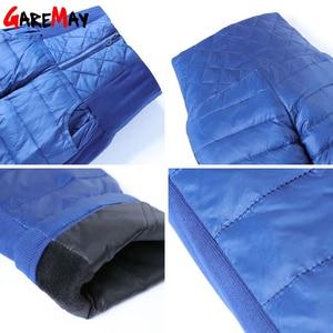 Image 5 - Winter Women Down Pants Plus Size Velvet Trousers Thickening Slim Thermal Female Warm Trousers Legging High Waist Pants