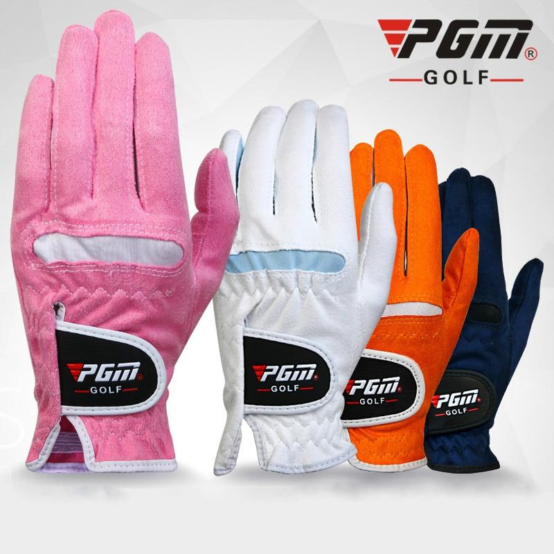 Super-fibra para Mulheres Par de Golfe Luvas Senhora Canhoto-right-handed Anti- Skid Respirabilidade 1 Pgm Mod. 344360
