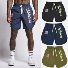 2020 Men Gyms Fashion Fitness Shorts Bodybuilding Joggers Summer Quick-dry Cool Short Pants Male Casual Beach Brand Sweatpants