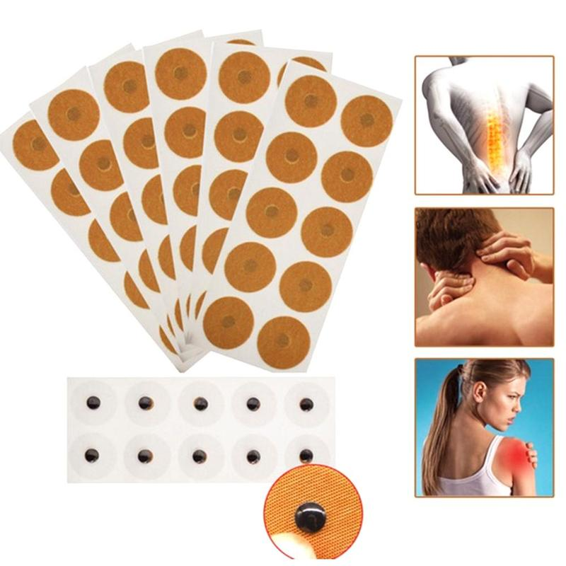 10Pcs/Lot Magnetic Acupuncture Therpy Sticker Back Shoulder Foot Pain Relief Magnet Treatment Sticker Health Relaxation Massage