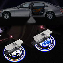 LED Courtesy Light For Alfa Romeo 159 156 147 Giulia Giulietta Mito Logo Projector Car Door Atmosphere Lamp