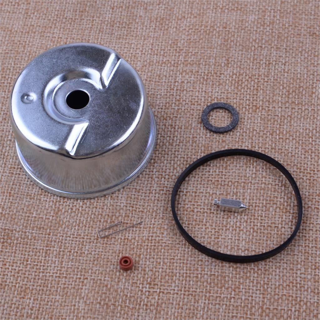 LETAOSK New 6pcs /set Silver Carburetor Float Bowl Needle Seat O-ring Repair Kit Engine Fit For Tecumseh 631867 631021B