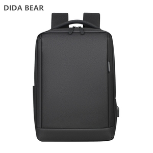 Image 2 - Anti Theft Oxford Men 14 inch Laptop Backpacks School Fashion Travel Male Mochilas Feminina Casual Women Schoolbag USB Charging