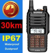 2021 dwukierunkowe Radio Baofeng UV 9R Plus daleki zasięg walkie talkie 50km vhf uhf Duan Band Radio Baofeng UV9R Plus Ham CB Radio