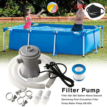 EU UK US Pool Filter Pump Electric Swimming Pool Filter Pump Swimming Pool Pump and Filter Kit Pool Pump Cleaning Tool Filter цена 2017
