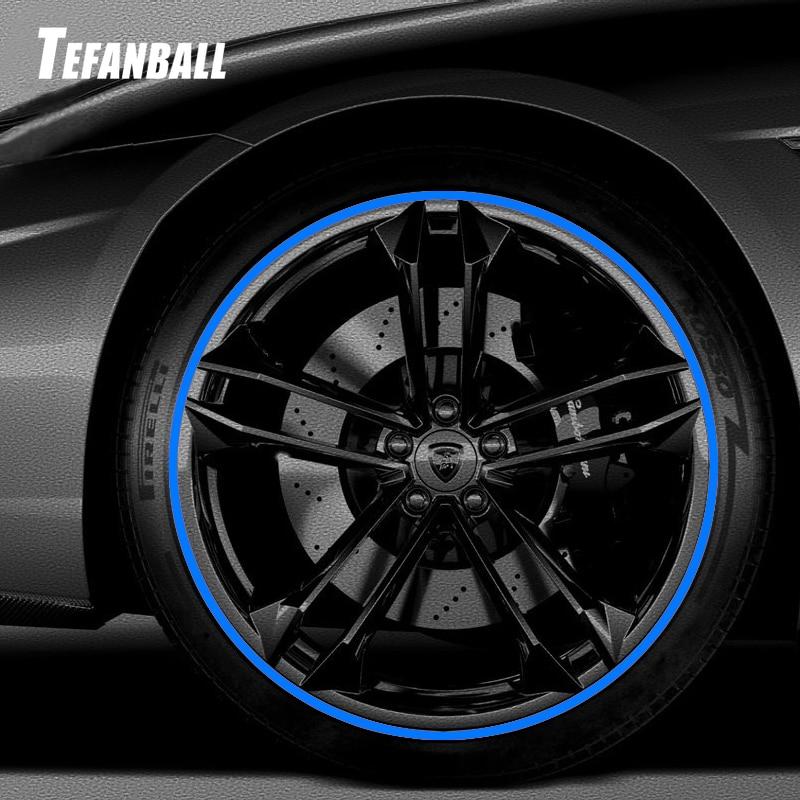 Hot 8M/ Roll New Styling IPA Rimblades Car Vehicle Color Wheel Rims Protectors Decor Strip Tire Guard Line Rubber Moulding Trim