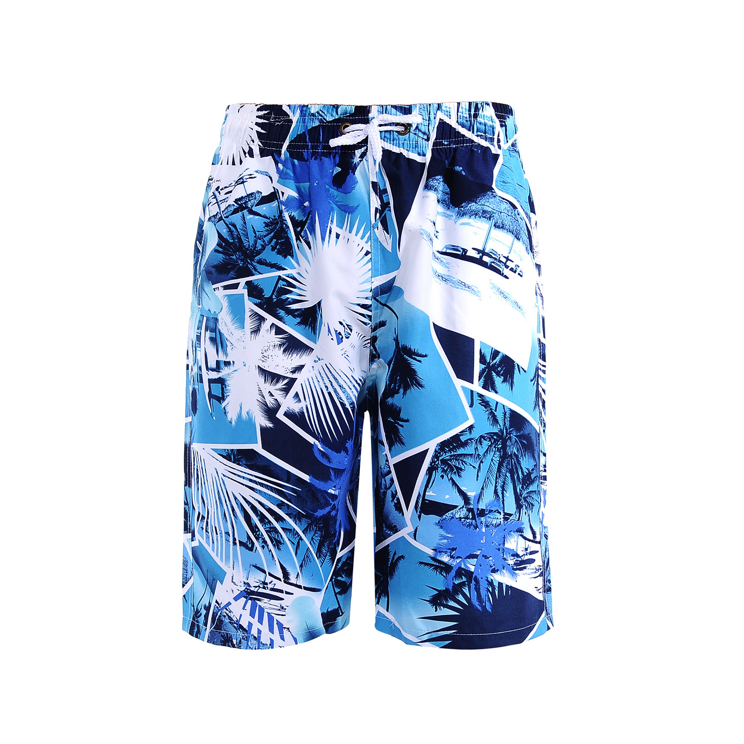 Beach Surf Board Men Casual Shorts Summer Plus Size Sweatpants Hawaiian Shorts Printed Fashion Roupas Fitness Clothing XX60MS