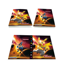 Toy-Cards Binder Playing-Album Pokemones-Cards-Holder Collection for Novelty Gift Kid