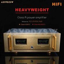 HIFI A60 + Pure Class Aเครื่องขยายเสียงอ้างอิงAccuphase A60 Current 2SA1943/2SC5200หรือMJL4281A MJL4302 20W * 2 Class AB 200W * 2