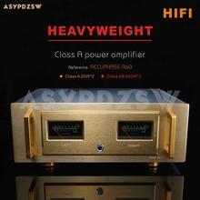 HIFI A60 + pur classe A amplificateur de puissance référence accuphase A60 courant 2SA1943/2SC5200 ou MJL4281A MJL4302 20W * 2 classe AB 200W * 2