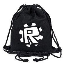 Black Satchel Custom Canvas School Bags Game Student Mochila Feminina Travel Casual Bag Men's And Women'sCollege Style Backpack