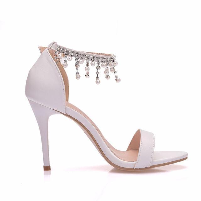 Glam Crystal High Heel/ Women Stylish Sandals 4