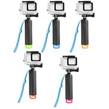 Sports Camera Waterproof Shell Protective Cover Photo Diving Stick Buoyancy  for GoPro Hero 7 6 5 Accessories