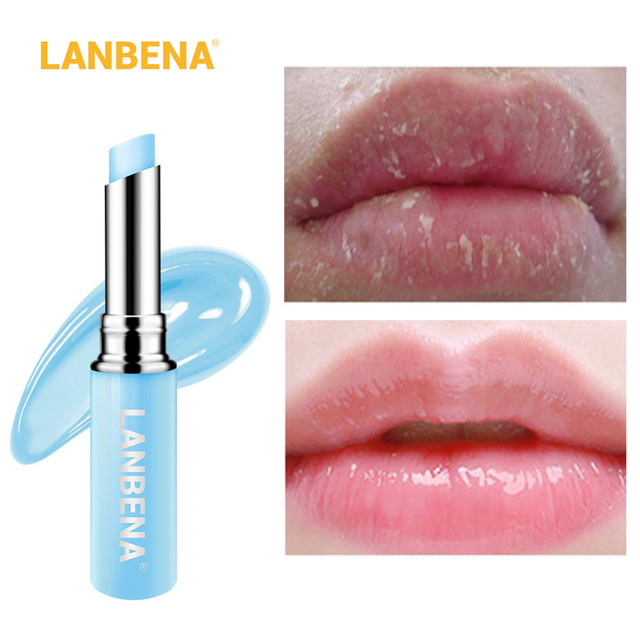 LANBENA Hyaluronic Acid Lasting Nourishing Lip Balm Moisturizing Reduces Fine Lines Relieves Dryness Repairs Damaged Lip Care 1
