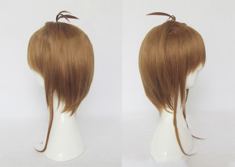 HAIRJOY Synthetic Hair Card Captor Sakura Cosplay Wig Costume Party Wigs Free Shipping 7