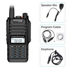 Baofeng BF-A58 Walkie Talkie IP68 Waterproof 128CH Dual Band UHF VHF Two Way Radio Handheld FM Transceiver CB Ham Station