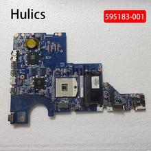 Hulics Originele 595183-001 Fit Voor Hp CQ42 G42 G62 CQ62 Laptop Moederbord DA0AX1MB6F1 DA0AX1MB6F0 Rev: F