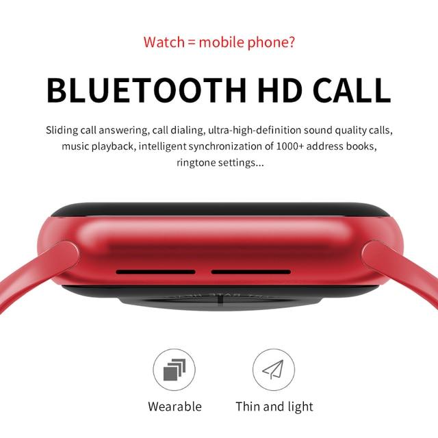 Wearpai HW12 Smart Watch 1.57' Bluetooth call Music Player Heart Rate Monitor Smart split screen display Smartwatch PK IWO12 W26 3